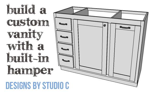 DIY Plans to Build a Bath Vanity with a Built-In Clothes Hamper_Copy